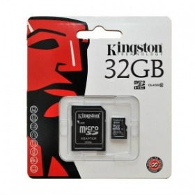 Kingston 32 GB micro SDHC kártya