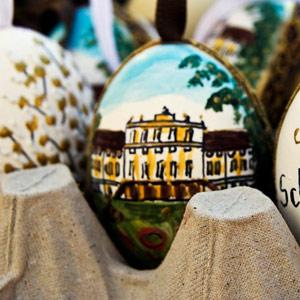 Húsvéti vásár Schönbrunn Kastély parkjában